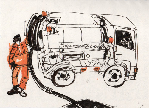 caminhão de água estilo de vida