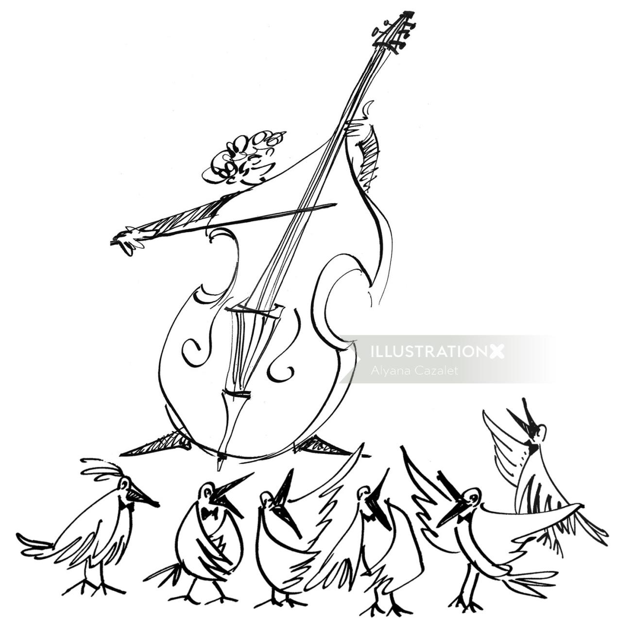 String Violin Musical Instrument