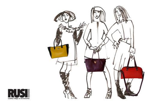 Groupe de femmes de la mode - dessin au trait