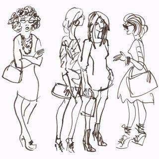 Fashion ladies group