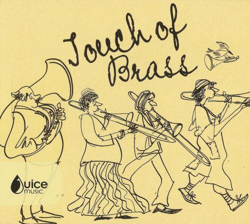 Ilustração de músicos de bronze por Alyana Cazalet