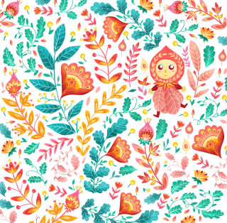 Textile design by Filipino based illustrator