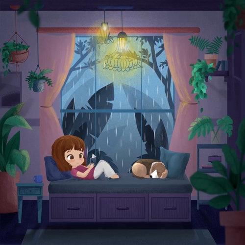 Animation gif de livre de lecture enfant