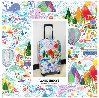 Wanderskye luggage cover art