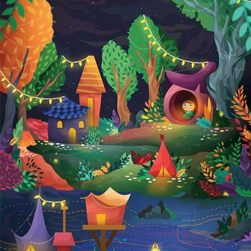 Animation children park