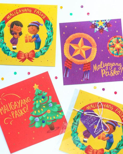 Children christmas cards