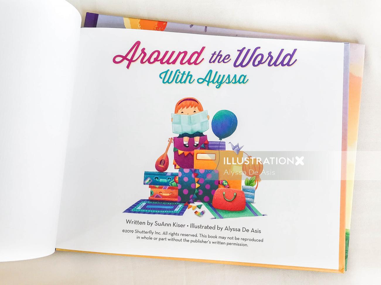 Illustration of children book