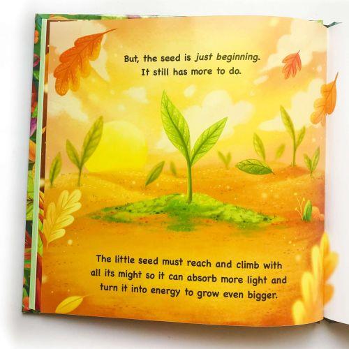 Children book about plant