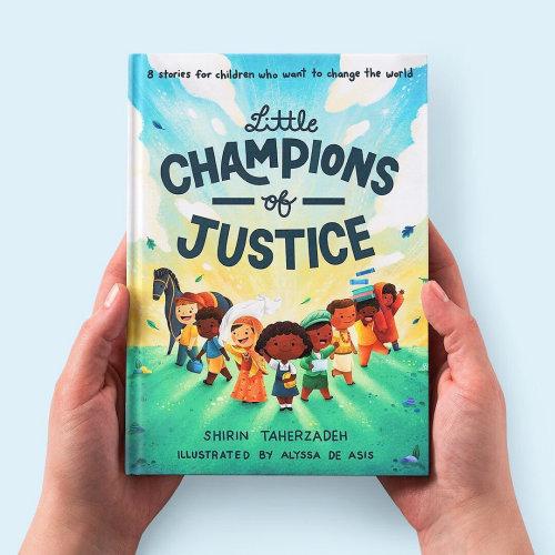 Le livre couvre les petits champions de la justice