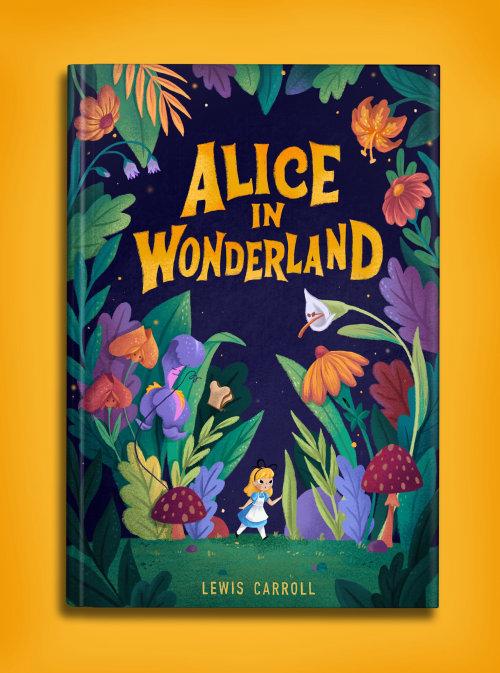 Couverture de livre Alice au pays des merveilles