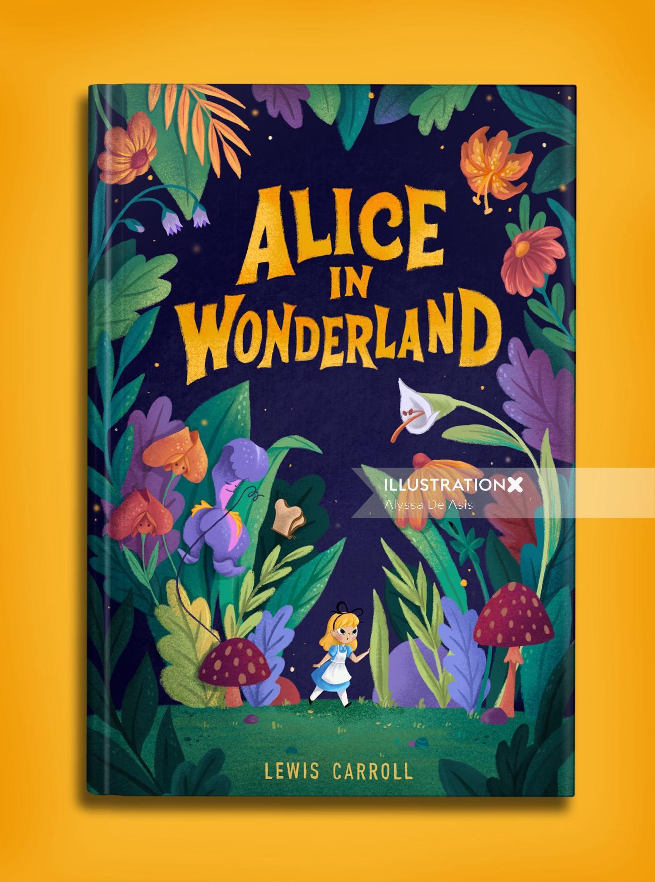 Book Covers Alice in Wonderland