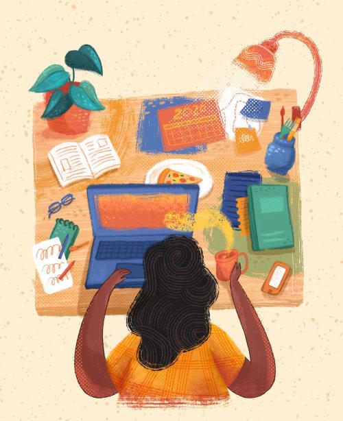 Table informatique éditoriale