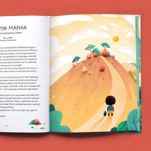 Children book martin manga