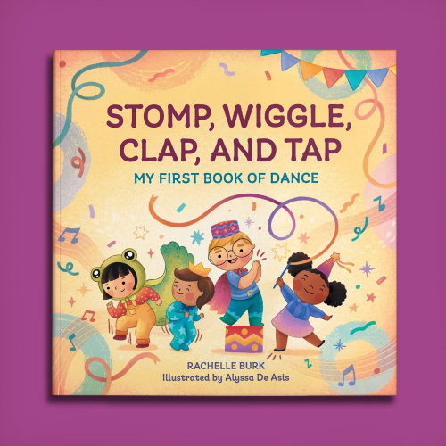 Books Stomp, wiggle, clap and tap