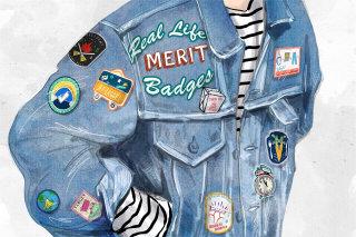 patch, fashion, denim, casual,