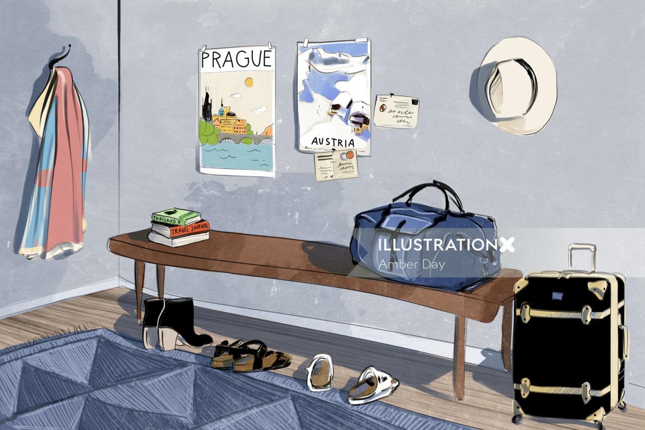 interior, room, travel, minimal, architecture, home, poster
