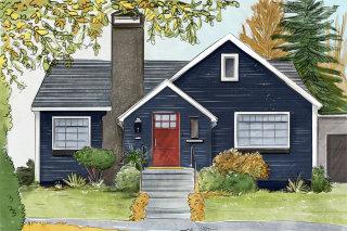 house, exterior, architecture