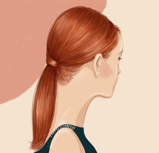 beauty, hair, fashion, tutorial, woman