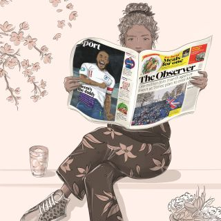 magazine, news, editorial, ethnic, fashion, people, prints, plants, london