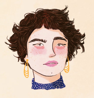 people, portrait, fashion woman
