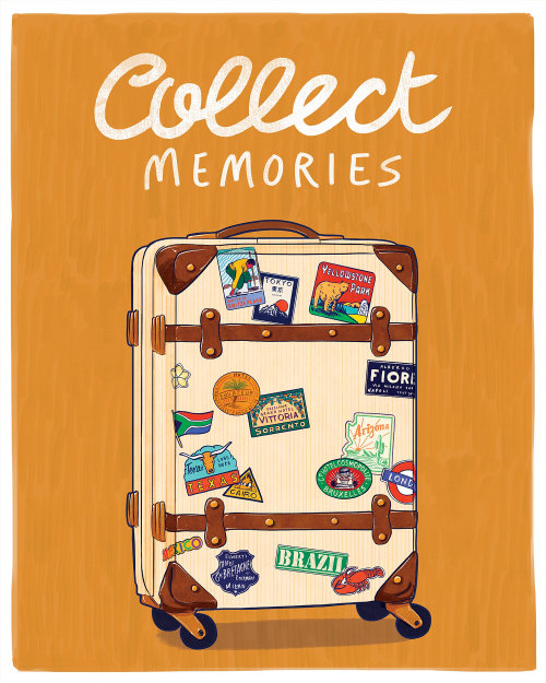 Graphic collect memories