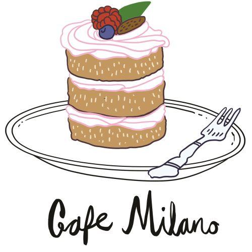 Food Café Milano fruit cake