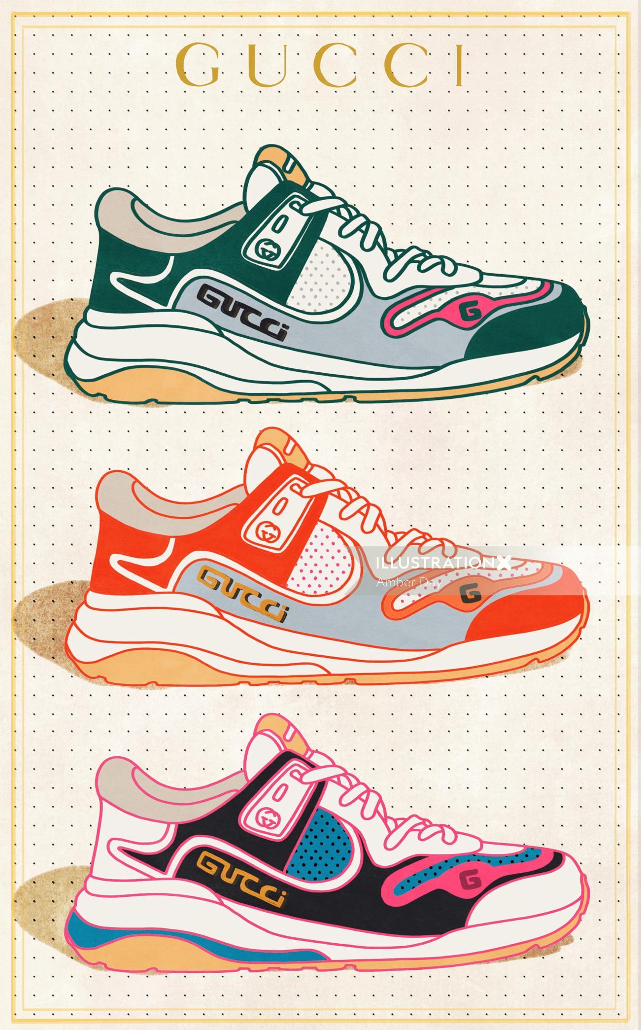 Fashion GUCCI shoes