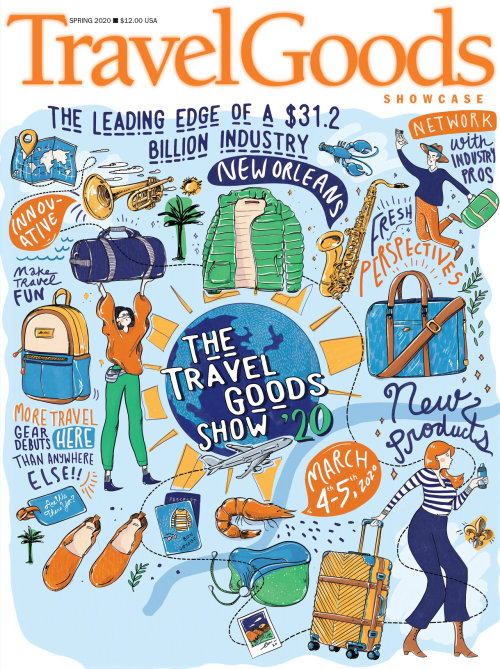 Graphic The travel goods