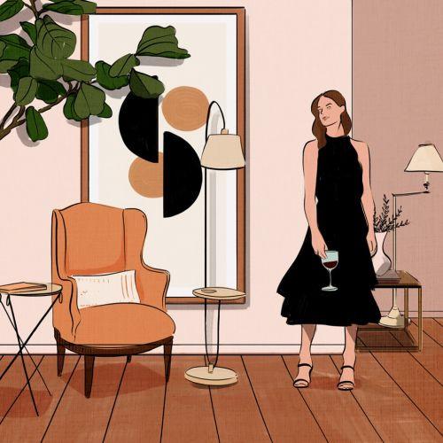 Amber Day Ilustrador de estilo de vida, editorial, comida y moda LA