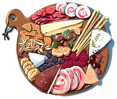 熟食店,奶酪,肉,火腿,橄榄,饼干,小吃,烹饪,小吃,博洛尼亚,图,明亮,insp