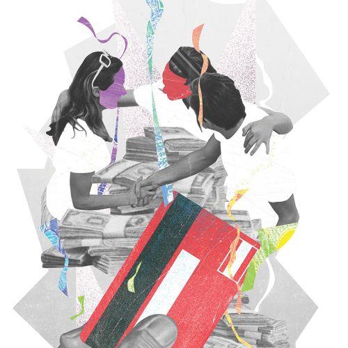 Andre Bergamin International montage illustrator. Brazil