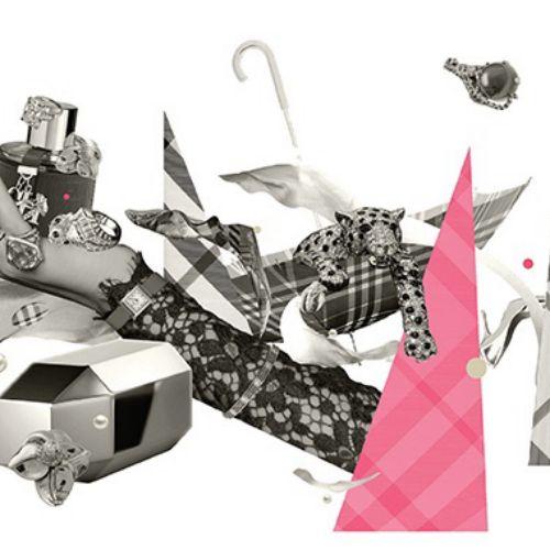 Print Graphic of Luxury Consumer Novo Luxo