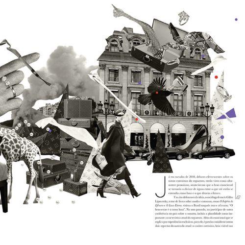The luxury consumer behavior conceptual illustration