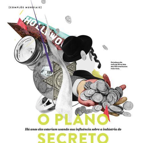 Andre Bergamin Internationaler Montageillustrator. Brasilien