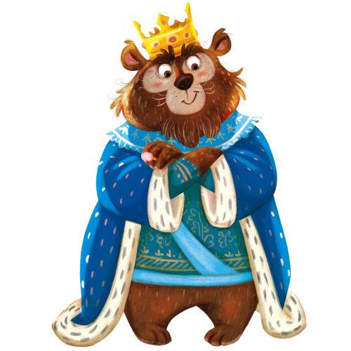 Cartoon illustration of King Monkey