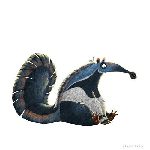 Character illustration of an animal