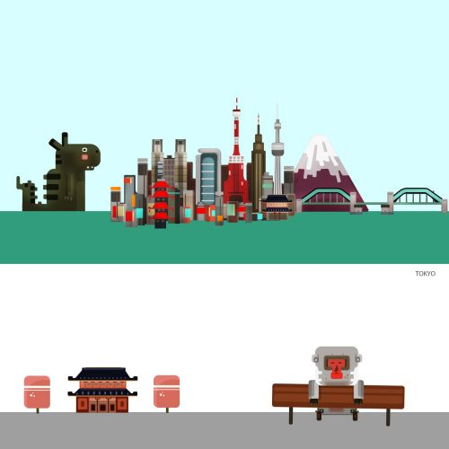 Andreas Besser Places & Locations Illustrator