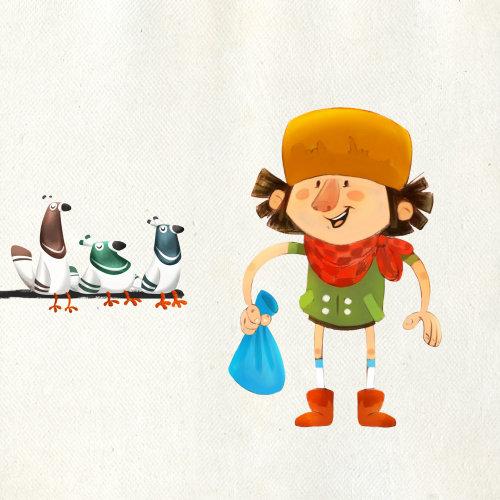 鸭人的角色设计