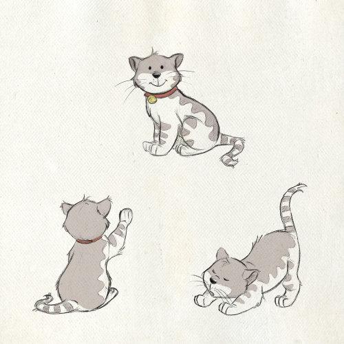 猫的动物插图