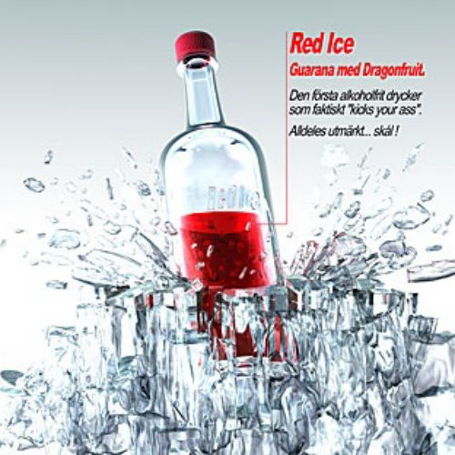 Food and drink illustration of  red ice  drink