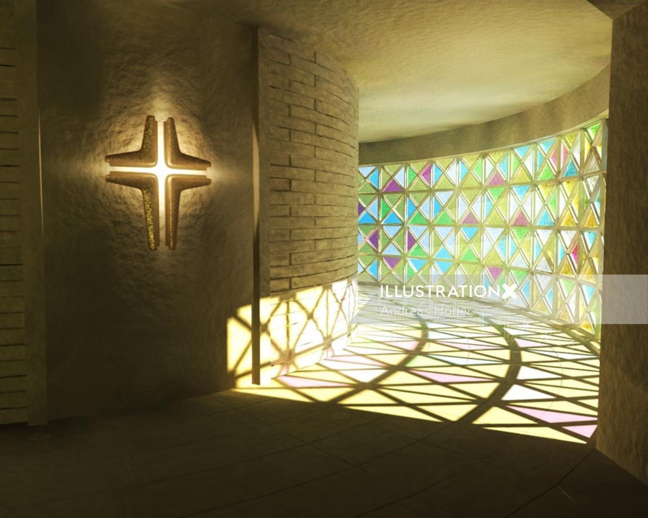 Architecture design of church