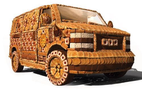 Character design of cookie car