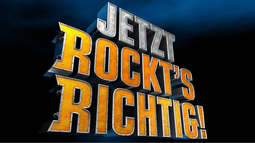 Lettering art of jetzt rocket's richtig