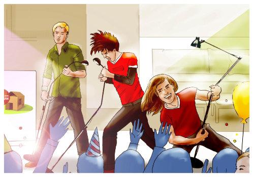 Evento musical para adolescentes