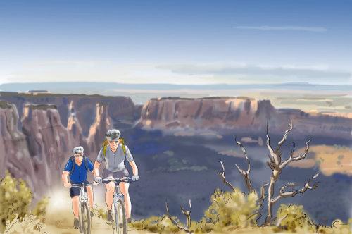 Ciclismo en la montaña