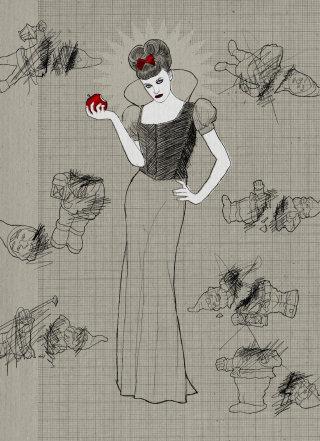 Andreas Schickert illustrator - line illustration