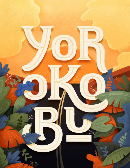 Ilustración de la portada de la revista Yorokobu