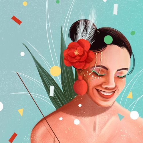 Andressa Meissner Portraits Illustrator from Brazil