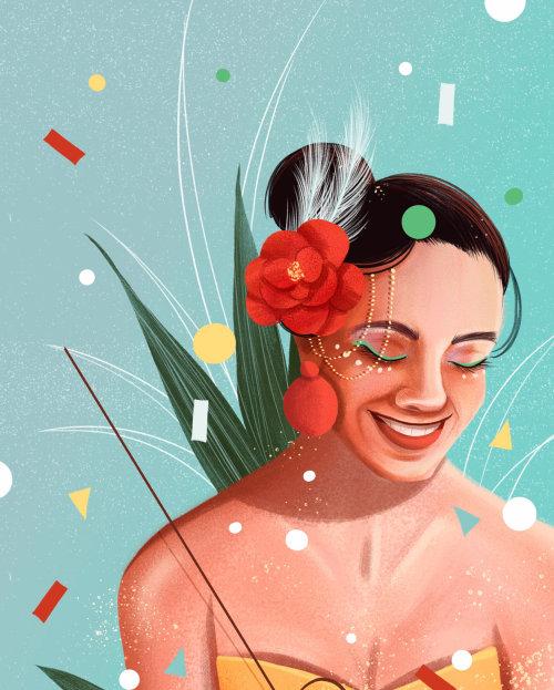Retrato de mujer hermosa por Andressa Meissner