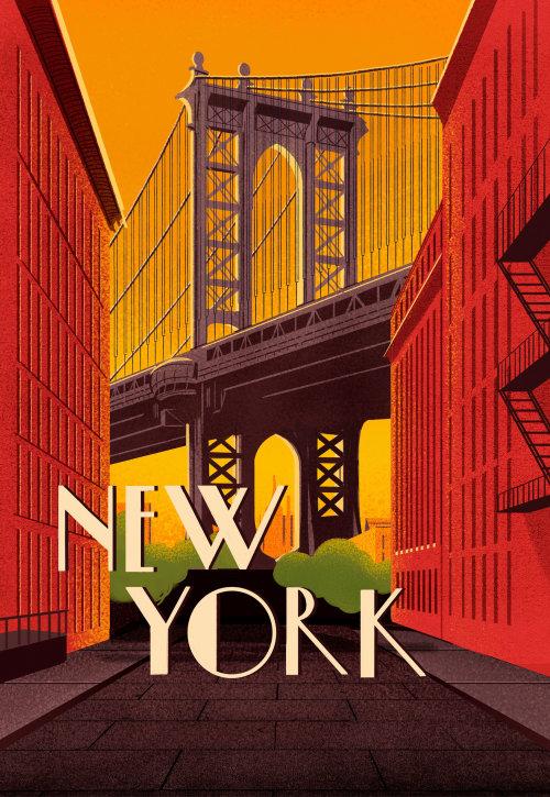 Brooklyn Bridge Park en la ciudad de Nueva York